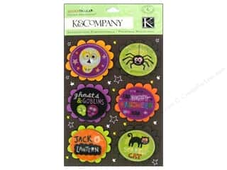 K&Co Grand Adhesions Spooktacular Words & Icons 3D