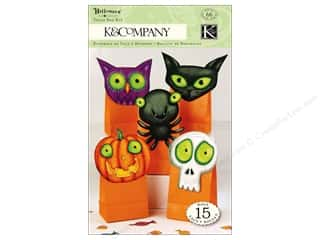 K&amp;Co Kits Tim Coffey Halloween Treat Bags