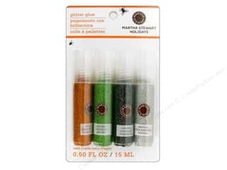 Martha Stewart Glitter Set w/Glue Halloween