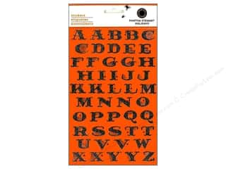 Martha Stewart Alphabet Stickers Spiderweb