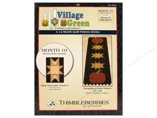 Village Green Month #10 Pattern