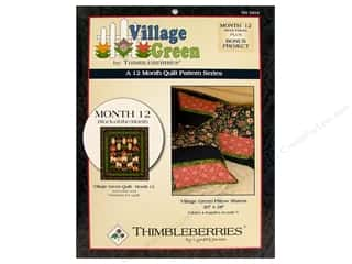 Village Green Month #12 Pattern
