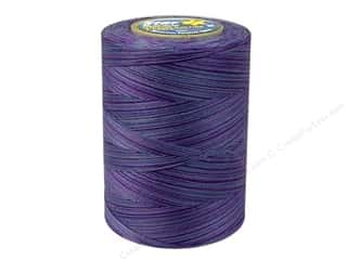 Star Thread: Coats & Clark Star Variegated Mercerized Cotton Quilting Thread 1200 yd. #846 Storm Clouds