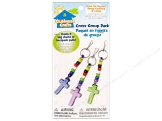 Sulyn Clubhouse Crafts Keychains Cross Group Pack