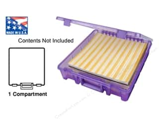 ArtBin Super Satchel 1-Compartment Translucent Purple