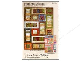 Four Paws Quilting: Strips and Ladders Pattern