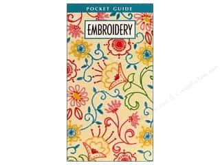 needlework book: Leisure Arts Embroidery Pocket Guide Book