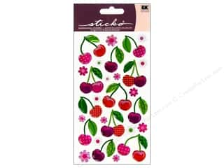 EK Sticko Stickers Sparkler Cherry Cherry
