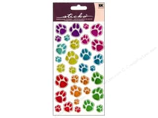 This & That Animals: EK Sticko Stickers Sparkler Animal Tracks