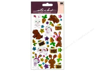 EK Sticko Stickers Sparkler Bunnies