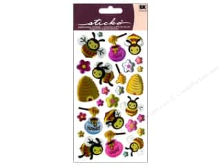 EK Sticko Stickers Sparkler Busy Bees