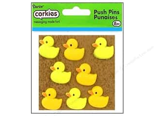 Darice Corkies Push Pin Rubber Ducky