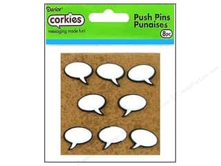 Darice Corkies Push Pin Conversation Bubble 8pc