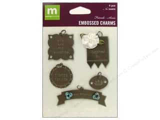 Making Memories Charms Embossed Friends