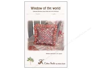 Clearance K&Co Mat Pad 4.75x6.75: Window Of The World Pattern