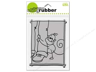 Stampendous Cling Rubber Stamp Changito Knee