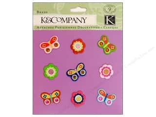 K&Co Brads Butterflies And Flowers