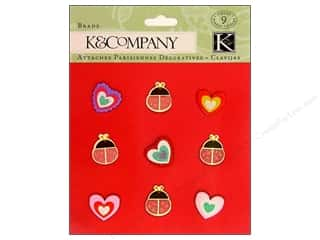 K&amp;Co Brads Hearts And Ladybugs