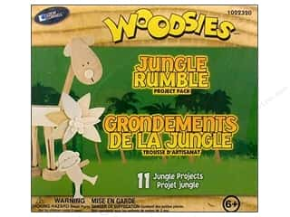 Clearance Woodsies: Woodsies Jungle Rumble Project Pack