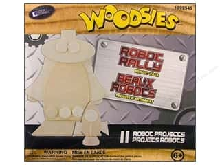 Kids Crafts: Forster Woodsies Project Pack Robot Rally