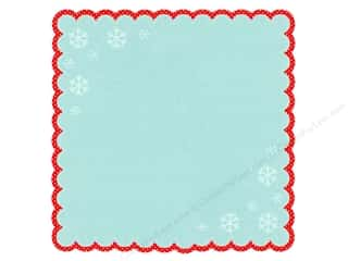 Holiday Sale Printed Cardstock: Doodlebug Paper 12x12 Doodle Cut Happy Holidays (25 sheets)