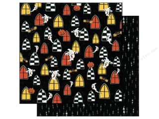 2013 Crafties - Best Adhesive: Best Creation 12 x 12 in. Paper Haunted House Spooks (25 sheets)