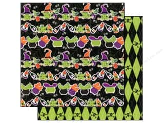 Best of 2012: Best Creation 12 x 12 in. Paper Haunted Hse Witch Stew (25 sheets)