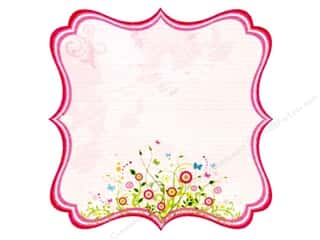 Best Creation 12 x 12 in. Paper Die Cut Journal Pink (25 sheets)