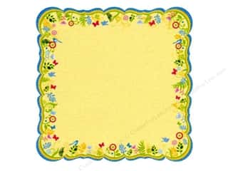 Best Creation 12 x 12 in. Paper Die Cut Journal Yellow (25 sheets)
