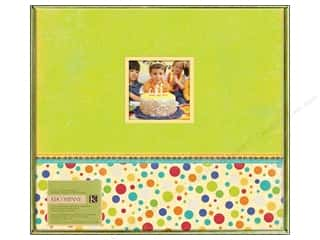 K&amp;Co Scrapbook Album 12x12 Confetti Fiesta
