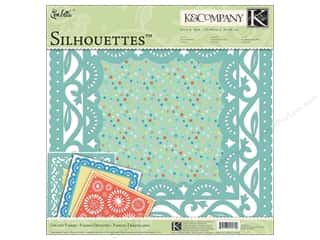 K&amp;Co Paper Packs 12x12 Confetti Silhouettes