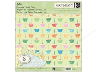 K&amp;Co Paper Packs 12x12 Confetti Glitter