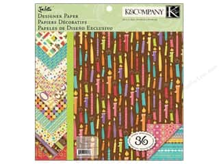 K&amp;Co Paper Pad 12x12 Confetti Designer