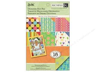 K&amp;Co Mat Pad 4.75x6.75 Confetti