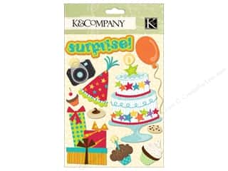 K&Co Grand Adhesions Confetti All Kids Birthday