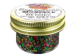 Art Institute Glitter 1oz Glass Shards Confetti
