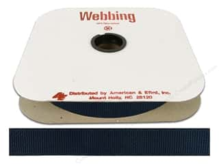 Polypropylene Webbing 1 in. Navy (25 yards)