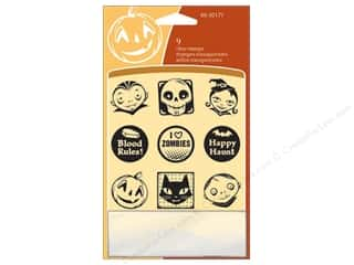 Inkadinkado Clear Stamp Inchies Fun Halloween