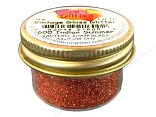 Clearance Art Institute Glitter 1oz Glass Shards: Fine Vintage Glass Glitter by Art Institute Indian Summer 1 oz.