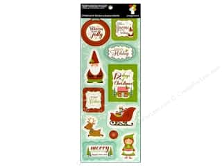 Imaginisce Sticker CottageChristmas Chip HolWishes