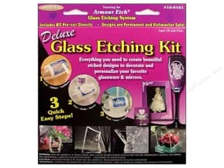 stencil full favorite: Armour Glass Etching Kit Deluxe