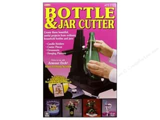 Glass Jars / Plastic Jars Craft & Hobbies: Armour Bottle & Jar Cutter Black