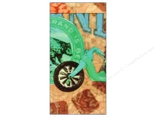 Pine Ridge Art Notepad Matchbook AB Big Wheel