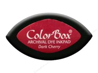 ColorBox Archival Dye Ink Pad Cat&#39;s Eye Dk Cherry