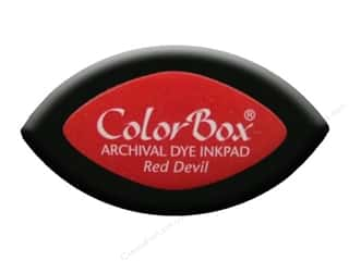 ColorBox Archival Dye Inkpad Cat's Eye Red Devil