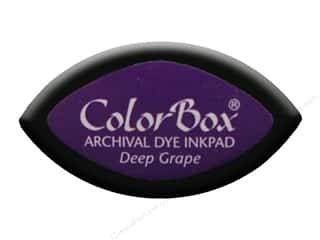 ColorBox Archival Dye Inkpad Cat's Eye Deep Grape