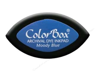 ColorBox Archival Dye Ink Pad Cat&#39;s Eye Moody Blue