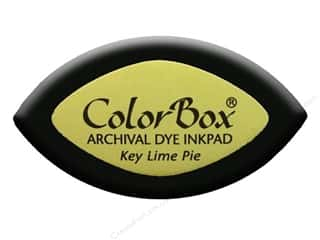ColorBox Archival Dye Ink Pad Cat&#39;s Eye Key LmePie