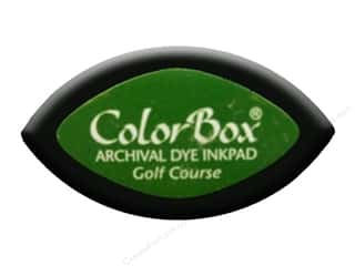 Dyes Dye Removers: ColorBox Archival Dye Inkpad Cat's Eye Golf Course