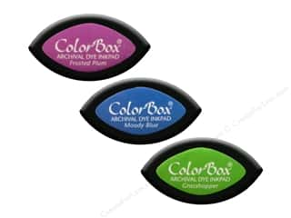 cardstock sale: ColorBox Cat's Eye Archival Dye Ink Pad, SALE $1.54-$1.59.
